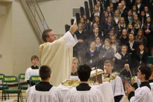 Thanksgiving All School Mass