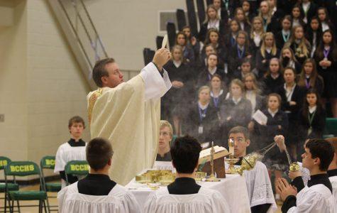 Thanksgiving All School Mass