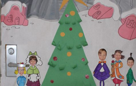 Christmas Door Decoration Winners!