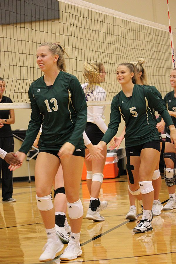 Photo Gallery: Volleyball wins 3-set thriller for title