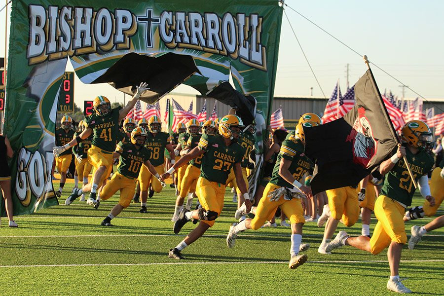 After losing to powerful Derby, the football team will host Great Bend on Friday.