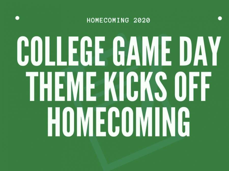 Homecoming Week activities include College Game Day dress-up theme, big Powder Puff night