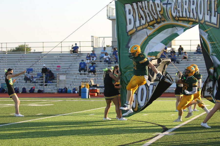 BC+will+bring+plenty+of+enthusiasm+into+tonight%27s+rivalry+game+with+Kapaun+at+BC+Family+Stadium.+Photo+by+Lilly+Taylor+and+Zoe+Winter.+